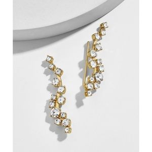 baublebar farah gold ear crawlers